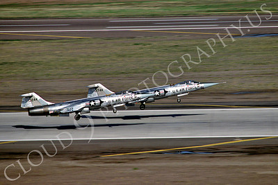 F-104USAF 00008 Lockheed F-104 Starfighter USAF 13244 Luke AFB by Peter J Mancus