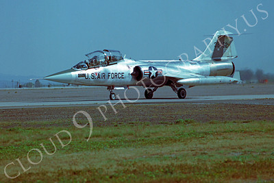 F-104USAF 00027 Lockheed F-104 Starfighter USAF 38452 Luke AFB by Peter J Mancus