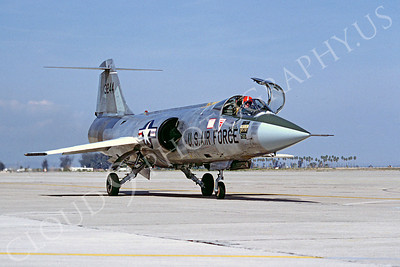 F-104USAF 00045 Lockheed F-104 Starfighter USAF 13244 Luke AFB by Peter J Mancus