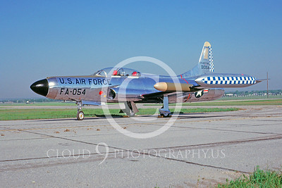 F-94USAF 00003 Lockheed F-94 Starfire by David W Menard