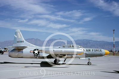 F-94USAF 00005 Lockheed F-94 Starfire April 1966 by Clay Jansson