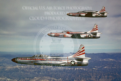 F-94USAF 00010 Lockheed F-94 Starfire Official US Air Force Photograph
