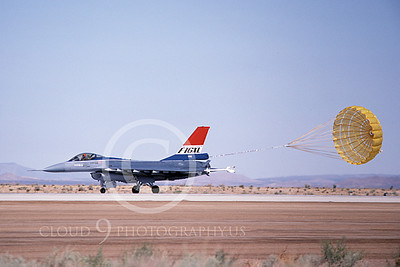 F-16XLUSAF 00001 A taxing Lockheed Martin F-16XL Fighting Falcon USAF Edwards AFB 10-1982 airplane picture by Michael Grove, Sr