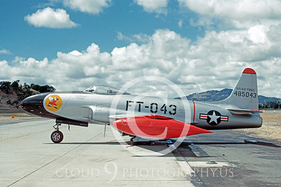 P-80USAF 00003 Lockheed P-80A Shooting Star 19 May 1949 Hamilton AFB by William T Larkins