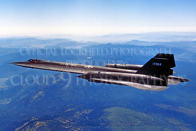 SR-71 00006 Lockheed SR-71 Blackbird USAF 17964 via Lockheed Aircraft Company produced by Peter J Mancus