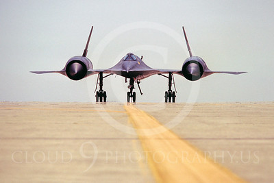 SR-71 00001 Lockheed SR-71 Black USAF Beale AFB May 1981 by Peter B Lewis