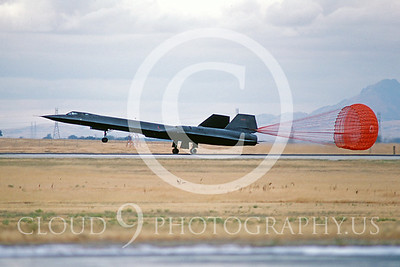 CHUTE 00030 Lockheed SR-71 Blackbird USAF Sept 1985 by Peter B Lewis