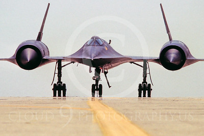 SR-71 00037 Lockheed SR-71 Black USAF Beale AFB May 1981 by Peter B Lewis