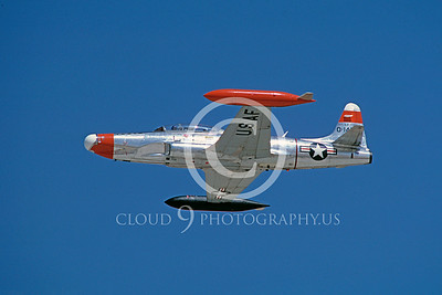 T-33USAF 00040 Lockheed NT-33 Shooting Star USAF 1986 by Carl E Porter