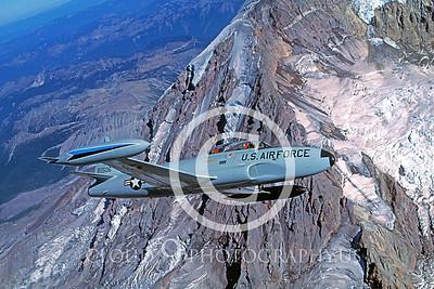 T-33USAF 00028 Lockheed T-33 Shooting Star USAF 318th FIS by Peter J Mancus