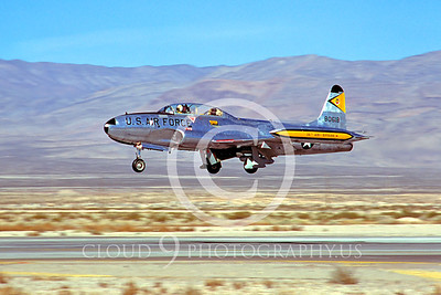 T-33USAF 00018 Lockheed T-33 ShootingStar USAF Nov 1980 Nellis AFB by Peter J Mancus