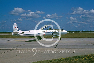 T-33USAF 00029 Lockheed T-33 Shooting Star USAF Oct 1982 Tyndall AFB by Peter B Lewis