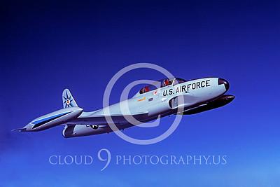 T-33USAF 00030 Lockheed T-33 Shooting Star USAF 318th FIS by Peter J Mancus