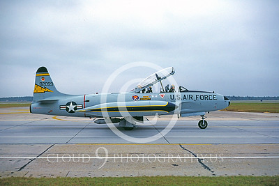 T-33USAF 00017 Lockheed T-33 Shooting Star 5th FIS Nov 1982 Tyndall AFB by Peter J Mancus