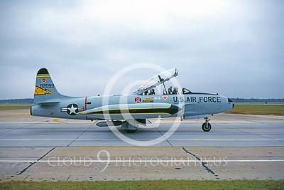 T-33USAF 00017 Lockheed T-33 Shooting Star 5th FIS Nov 1982 Tyndall AFB by Peter J Mancus