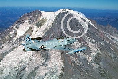 T-33USAF 00032 Lockheed T-33 Shooting Star USAF 318th FIS by Peter J Mancus