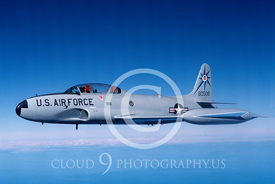 T-33USAF 00014 Lockheed T-33 Shooting Star USAF 318th FIS Oct 1987 by Peter J Mancus