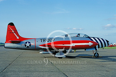 T-33USAF 00039 Lockheed T-33 Shooting Star USAF May 1983 by Clive Moggoridge