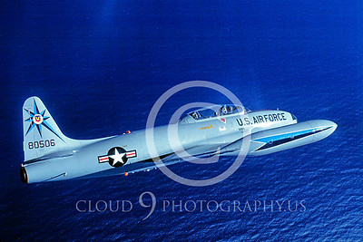 T-33USAF 00020 Lockheed T-33 Shooting Star 318th FIS USAF by Peter J Mancus