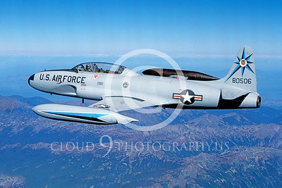 T-33USAF 00024 Lockheed T-33 Shooting Star USAF 318th FIS by Peter J Mancus