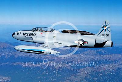 T-33USAF 00024 Lockheed T-33 Shooting Star USAF 318th FIS by Peter J Mancus