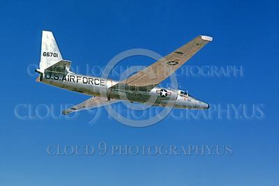 U-2 00002 Lockheed U-2 Dragon Lady USAF 66701 via Lockheed Aircraft, produced by Peter J Mancus