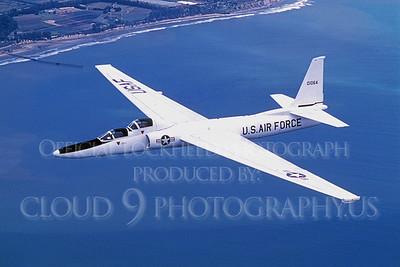 U-2RT 00010 Lockheed U-2RT Dragon Lady USAF 01064 via Lockheed Aircraft Company produced by Peter J Mancus