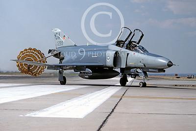 CHUTE 00032 McDonnell Douglas F-4E Phantom II USAF June 1991 by Peter B Lewis