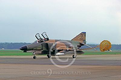 CHUTE 00021  McDonnell Douglas F-4 Phantom II USAF by Peter J Mancus