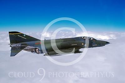 RF4C-USAF 00002 McDonnell Douglas RF-4C Phantom II USAF # 80572 19 Nov 1987 by Peter Haster via AASS