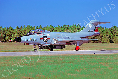 F-101BUSAF 00015 McDonnell F-101B Voodoo USAF 70307 Tyndall AFB October 1976 by Peter J Mancus