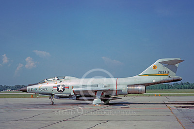 F-101BUSAF 00009 McDonnell F-101B Voodoo USAF 70348 444th FIS 29 May 1967 by Clay Jansson