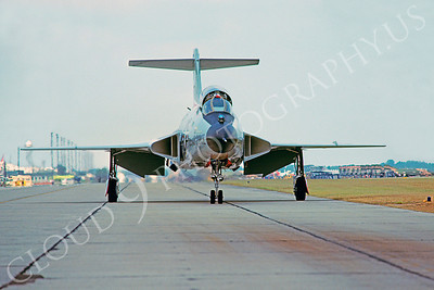 F-101BUSAF 00017 McDonnell F-101B Voodoo USAF Tyndall AFB November 1978 by Peter J Mancus
