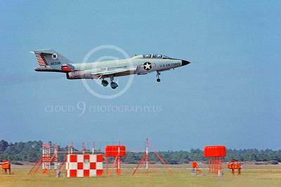 F-101BUSAF 00006 McDonnell F-101B Voodoo USAF 803336 October 1980 Tyndall AFB by Peter J Mancus