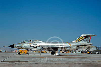F-101BUSAF 00011 McDonnell F-101B Voodoo USAF 70426 by Clay Jansson