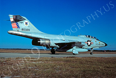 F-101BUSAF 00007 McDonnell F-101B Voodoo USAF 80320 October 1980 Tyndall AFB by Peter J Mancus