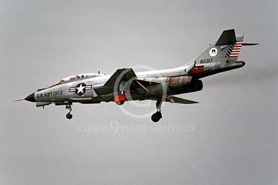 F-101BUSAF 00002 McDonnell F-101B Voodoo USAF 80317 by Peter J Mancus