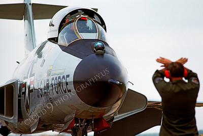 F-101BUSAF 00003 McDonnell F-101B Voodoo USAF Tyndall AFB by Peter J Mancus