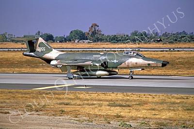 RF-101 00001 McDonnell RF-101 Voodoo USAF 56055 McClellan AFB September 1973 by Peter B Lewis