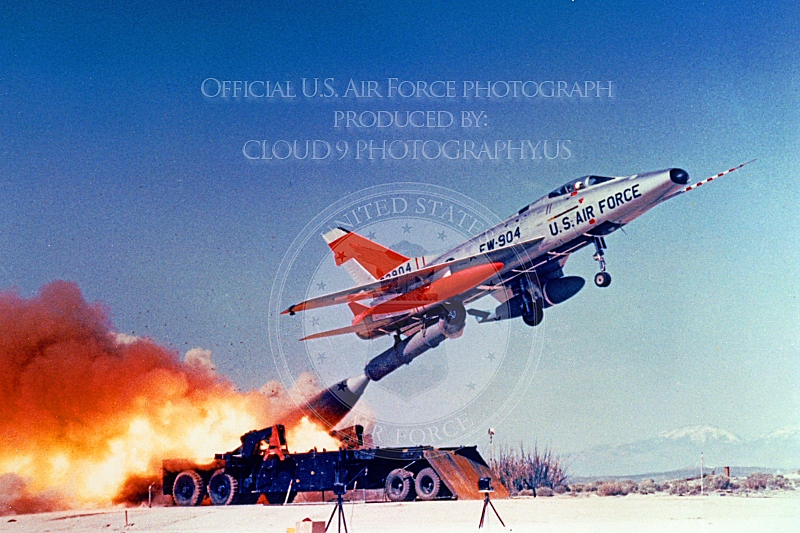 USAF North American F-100 Super Sabre Military Airplane Pictures - CLOUD9PHOTOGRAPHY