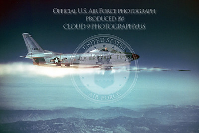 F-86USAF 00004 North American F-86D Sabre Official US Air Force Photograph