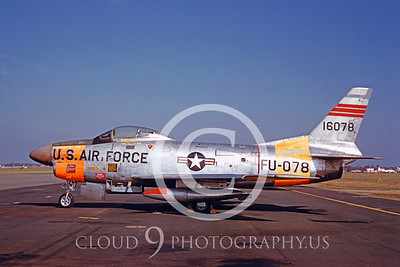 F-86USAF 00001 North American F-86D Sabre Nov 1960 by Eugene M Sommerich