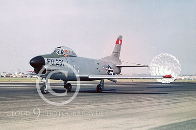 CHUTE 00022 North American F-86K Sabre produced by Peter J Mancus