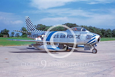 F-86USAF 00003 North American F-86F Sabre 1954 Dayton by Warren D Shipp S