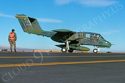 OV-10USAF 00005 North American OV-10 Bronco USAF George AFB January 1990 by Peter J Mancus