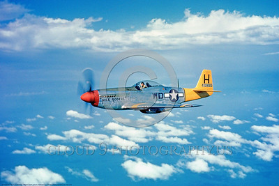 P-51 00010 Miss Rogers, an in-flight US Army Air Force North American P-51 Mustang WWII fighter, military airplane picture, Official USAF Picture     DONEwt copy