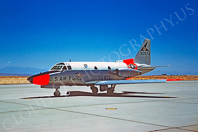DG 00078 North American T-39 Sabreliner USAF 92872 June 1961 by Clay Jansson
