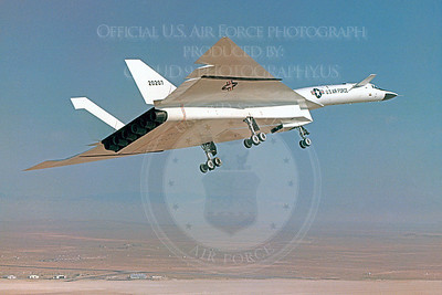 XB-70 00010 North American XB-70 Valkyrie USAF 20207 Official USAF Photograph produced by Peter J Mancus