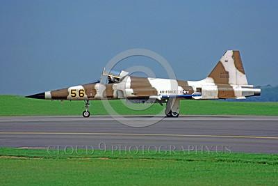 F-5USAF 00006 Northrop F-5E Freedom Fighter USAF 01556 August 1982 by Wilfried Zetsche