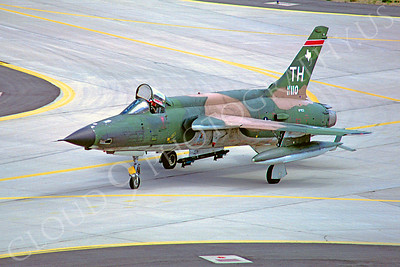 F-105USAF 00025 Republic F-105 Thunderchief USAF 61110 19 September 1981 by Joe Cupido